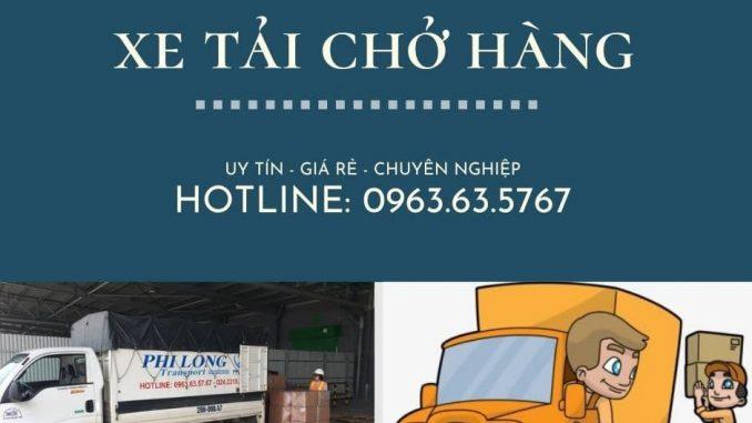 Cho thuê xe tải chở hàng từ phố An Xá đi Phú Thọ