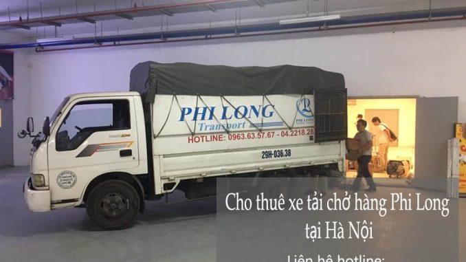 Cho thuê xe tải giá rẻ phố Thanh Hà đi Hòa Bình