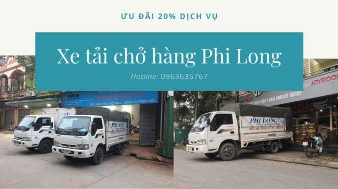 Cho thuê xe tải phố Hàng Mắm đi Hòa Bình