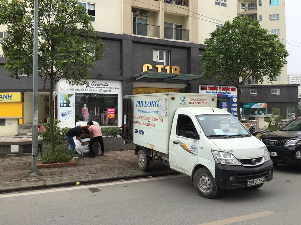 cho thuê xe tải nhỏ chở hàng tại phố Miếu Đầm