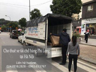 dịch vụ cho thuê xe tải tại phố Miêu Nha