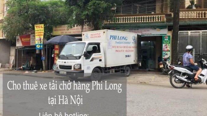 Cho thuê xe tải phố Ngõ Gạch đi Hòa Bình
