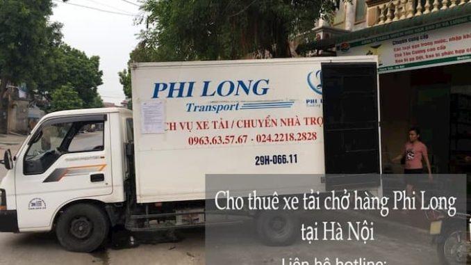 Cho thuê xe tải phố Hàng Gai đi Quảng Ninh