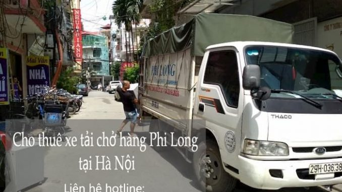 Cho thuê xe tải chuyên nghiệp nhất tại phố Tân Mỹ