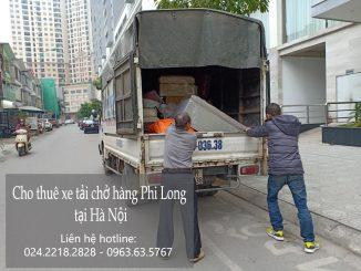 Taxi tải Phi Long tại phố Lê Quang Đạo