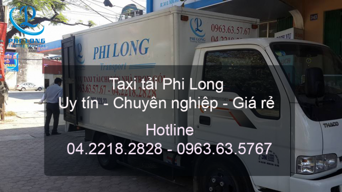 Taxi tải giá rẻ từ đường Phạm Hùng đi Hải Phòng