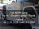 Taxi tải giá rẻ tại đường Thạch Bàn đi Quảng Ninh