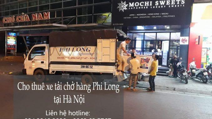 Taxi tải Phi Long chuyển nhà trọn gói tại Hà Nội
