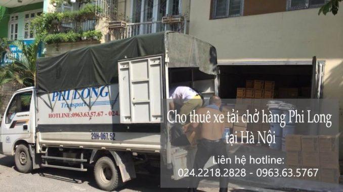 Cho thuê xe tải phố Hàng Hòm đi Quảng Ninh