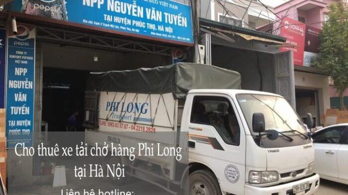 Cho thuê xe tải phố Tràng Tiền đi Hòa Bình